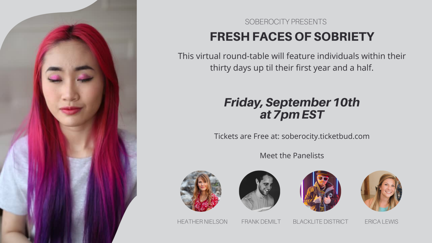 Fresh Faces of Sobriety